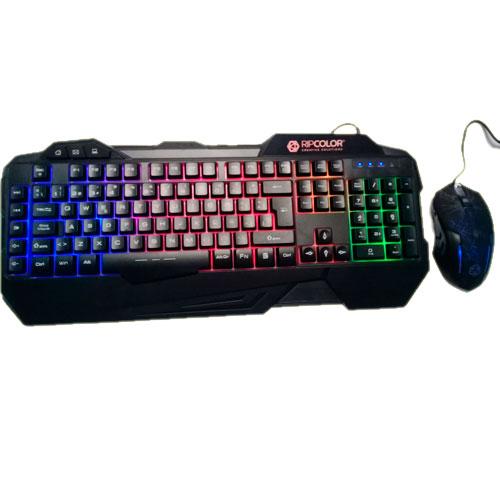 Combo Gaming Mouse y Teclado Ripcolor