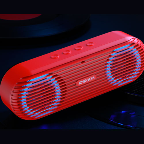 Parlante bluetooth rojo JR-M01SR