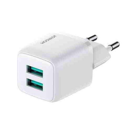 L-2A121B  Cargador Joyroom 2 puertos USB