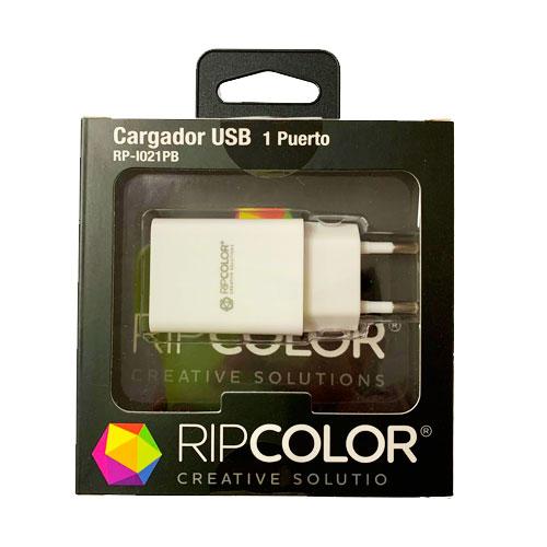 CARGADOR-USB-1-PUERTO-RIPCOLOR--I021PB